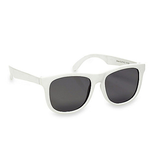 Baby Opticals by Hipsterkid Tinted Lens Sunglasses in White