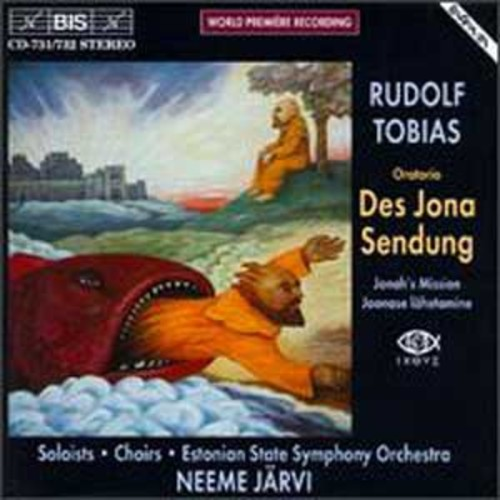 Rudolf Tobias: Des Jona Sendung By Neeme Jrvi (Audio CD)