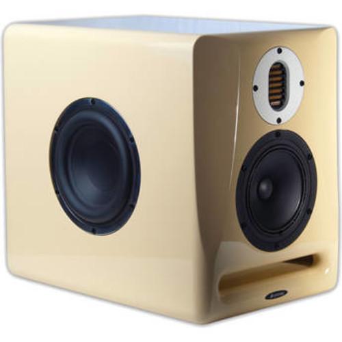 Abbey 3-Way Active Studio Monitor (Cream)