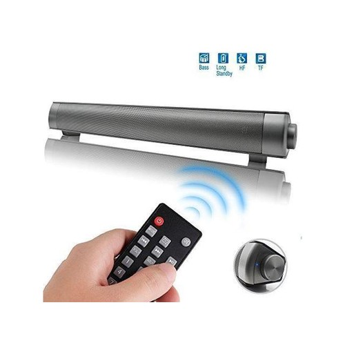 Multifunctional Sound Bar Speakers for TV /Tablet PC/ Laptop/ iPhone / iPad / Portable Audio Players,2 Channel USB MP3 Player Bluetooth Wireless Sound Bar Speaker,with remote control