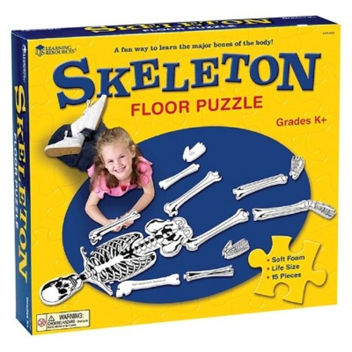 Learning Resources Skeleton Floor Puzzle 15pc