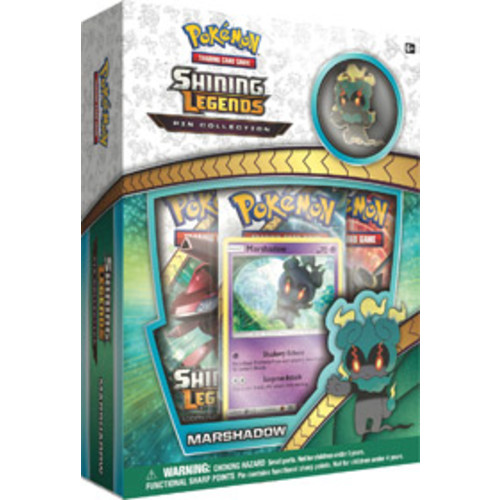 Pokemon Trading Card Game: Shining Legends - Marshadow Pin Collection