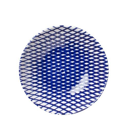 Net & Stripe Net Medium Serving Bowl