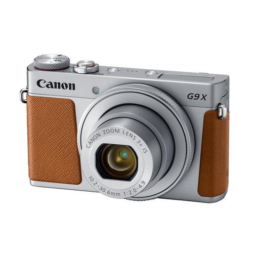 Canon PowerShot G9 X Mark II 20.1MP Digital Camera (Silver)