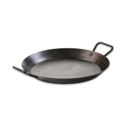 Lodge 15-Inch Seasoned Carbon Steel Paella Pan