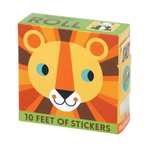 Animals of the World Sticker Roll