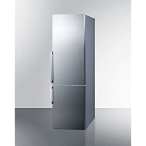 Summit FFBF246SS Refrigerator, Stainless Steel