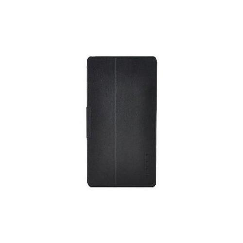 CODi Locking Tablet Folio Case - Flip cover for tablet - leather, brushed microfiber - black - for Apple iPad (3rd gener
