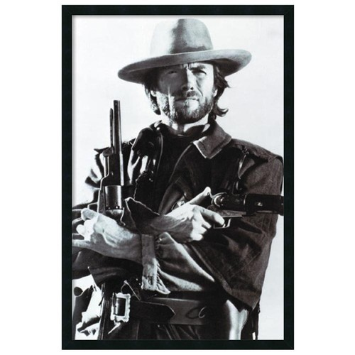 Clint Eastwood Framed Art