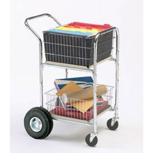 Charnstrom Compact Dual Handle Cart with 10-Inch Rear Air Tires (M249)