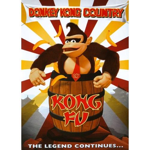 Donkey Kong Country: Kung Fu [DVD]