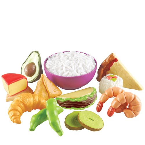 Learning Resources New Sprouts Multicultural Food Set