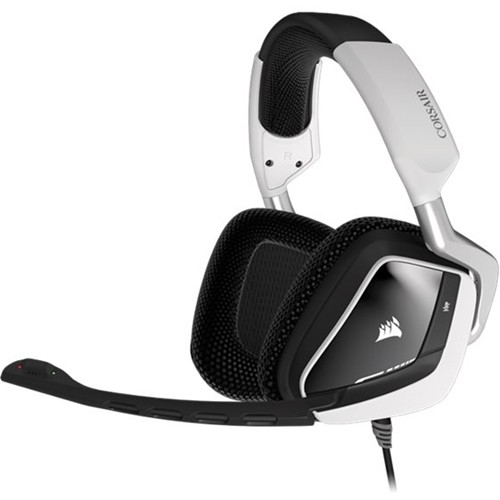 CORSAIR - Gaming VOID PRO RGB USB Dolby 7.1 Surround Sound Gaming Headset - White