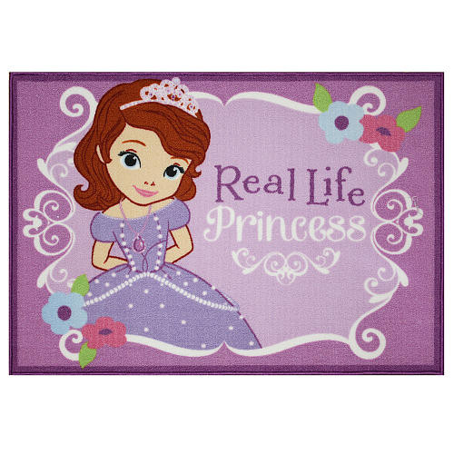 Disney Jr. Sofia the First Real Princess Area Rug - Size 3 x 5 ft