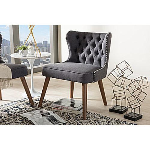 Baxton Studio Scarlett Tufted Club Chair