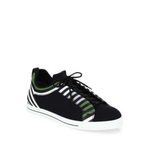 FENDI Neoprene Lace-Up Sneakers