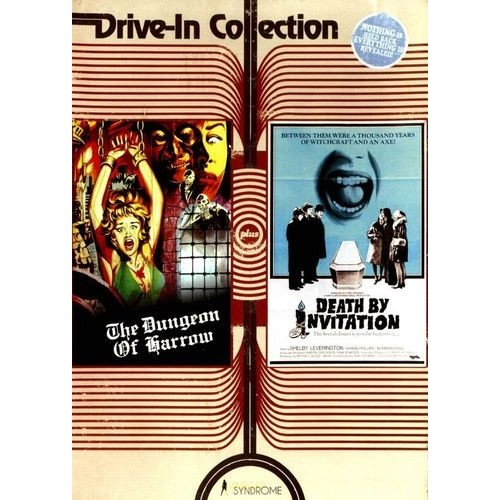 Drive-In Collection: The Dungeon of Harrow/Death by Invitation [DVD]