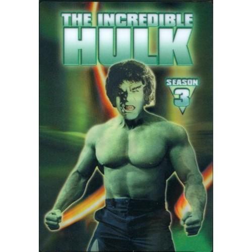 The Incredible Hulk: The Complete Third Season [5 Discs]