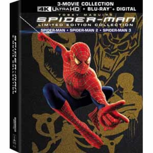 Spider-Man (2002) / Spider-Man 2 (2004) / Spider-Man 3 (2007) [4K UHD] [Blu-Ray] [Digital]