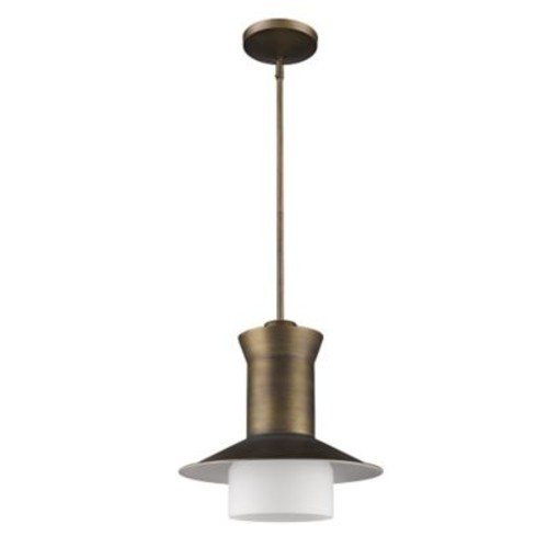 Acclaim Lighting Greta 1-Light Mini Pendant; Raw Brass