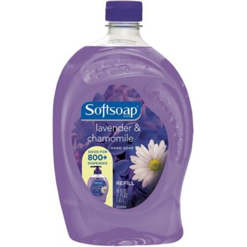 Softsoap Liquid Hand Soap, Lavender & Chamomile, 56 Oz. Refill