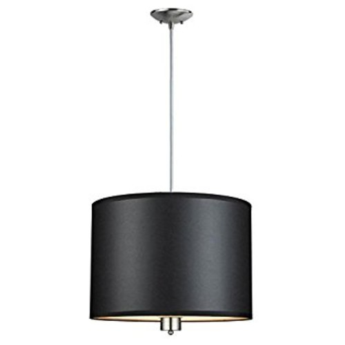 Hampton Bay ES1579SBA Murray Collection 3 Light Pendant Brushed Nickel Finish