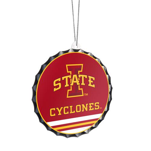 NCAA Bottle Cap Ornament - Iowa State Cyclones