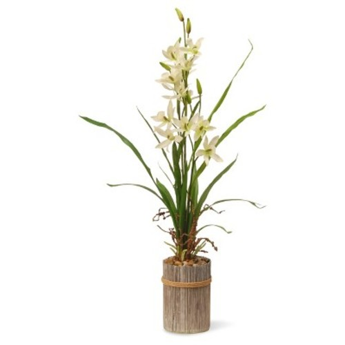 Garden Accents Artificial Potted Flower Cream 30