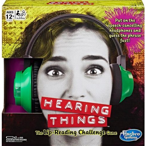 Hasbro - Hearing Things Game - Multicolor
