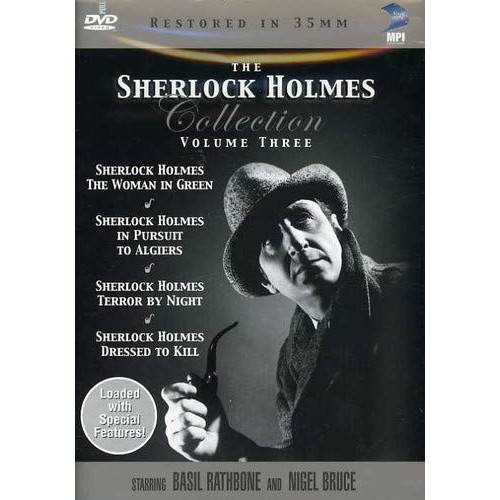 Sherlock Holmes Collection: Volume 3: (Dressed to Kill / In Pursuit to Algiers / Terror By Night / The Woman in Green)