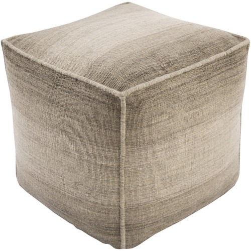Chaz Pouf in Camel design by Surya