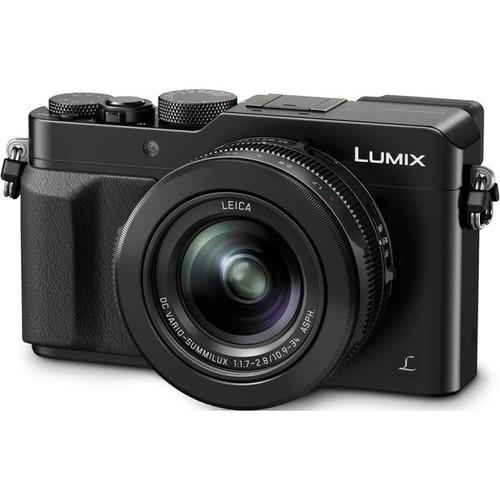 Panasonic Lumix DMC-LX100 12.8MP Black Digital Camera