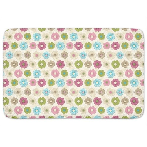 Floral Happiness Unlimited Bath Mat