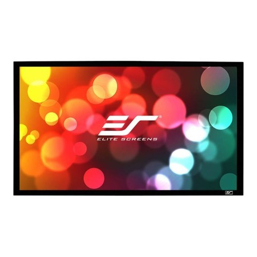 Elite Screens SableFrame Series - Projection screen - 150 in ( 150 in ) - 16:9 - CineGrey 3D - black (ER150DHD3)