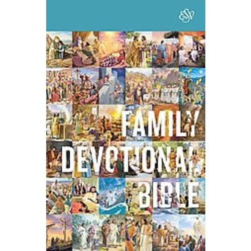 Holy Bible: Esv Family Devotional Bible With Ribbon Marker (Hardcover)