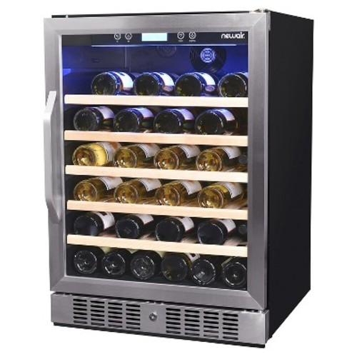 Air 52 Bottle Wine Cooler - Stainless Steel AWR-250SB