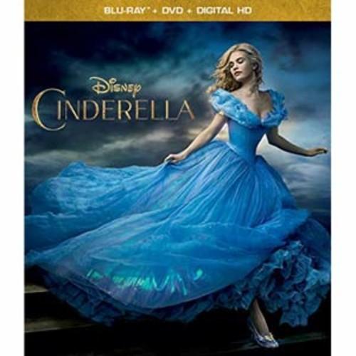 Cinderella (Live Action) [Blu-Ray] [DVD] [Digital HD]