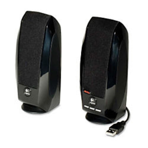 Logitech S-150 Digital USB Speaker System, Black