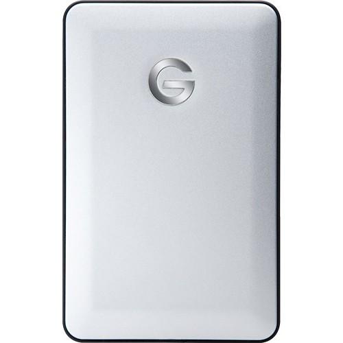 G-Technology - mobile 1TB External USB 3.0 Portable Hard Drive - Silver