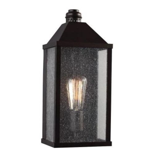 Feiss Lumiere' Collection 1-Light Oil-Rubbed Bronze Outdoor Sconce