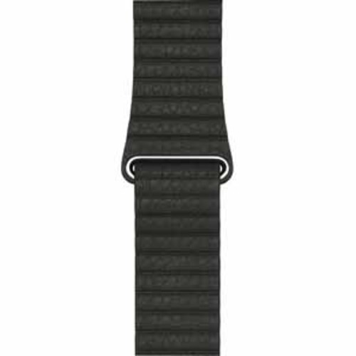 Apple Leather Loop Band for 42mm Watch - Large - Charcoal Gray