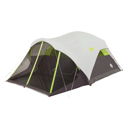 Coleman Steel Creek 6-Person Fast Pitch Screenroom Dome Tent