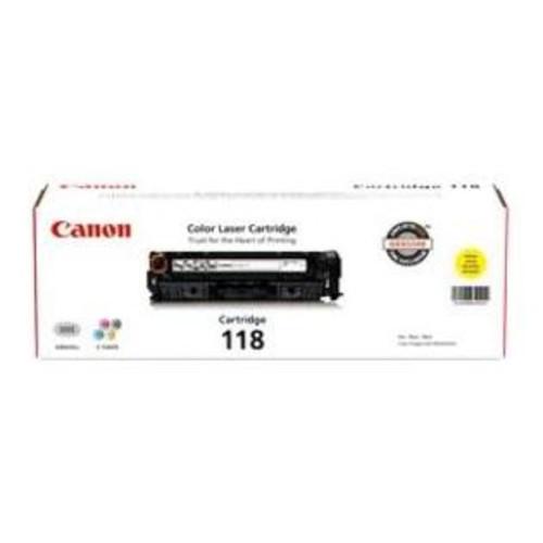 Canon 2659B001 Canon Usa Canon Cartridge 118 Yellow Toner - For Canon Imageclass Lbp7200cdn, Lbp7660cdnu0026#44;