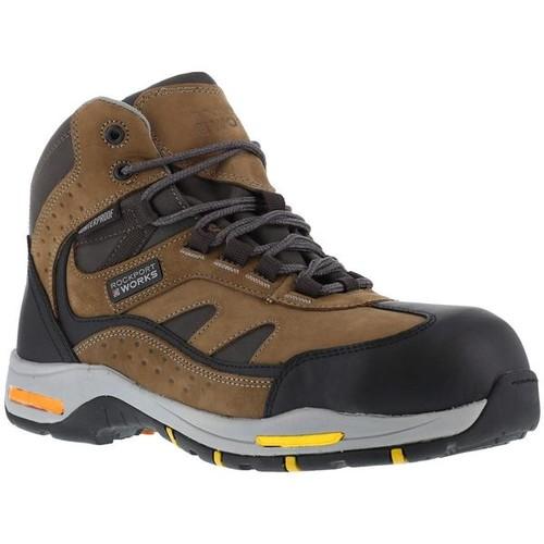 Reebok Prompter - Waterproof Sport Hiker - Black with Brown Trim [width : Medium]