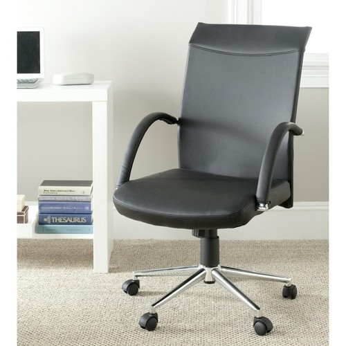 Safavieh Dejana Black Desk Chair - FOX8506A