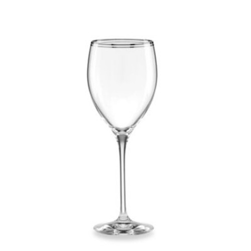 kate spade new york Library Lane Platinum 12 oz. Wine Goblet