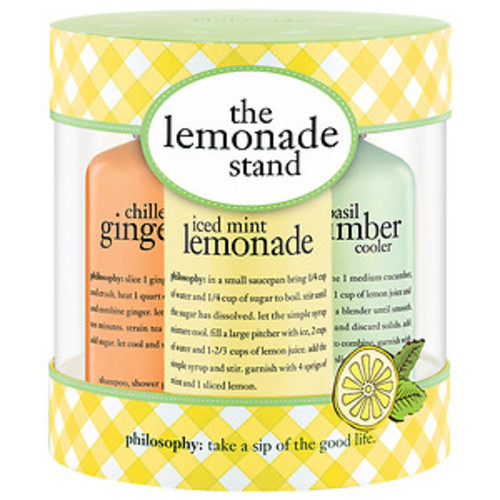 philosophy lemonade stand 3pc kit
