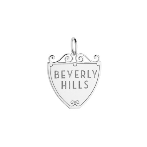 Beverly Hills 90210 Sign Charm