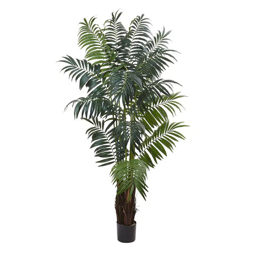 nearly natural Artificial Bulb Areca Palm Tree