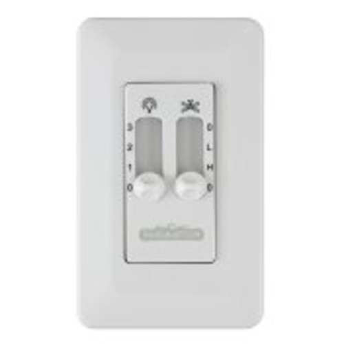 Fanimation CW6WH Ceiling Fan and Light Wall Control, for Palisade Only, White